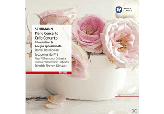 Daniel Barenboim, New Philarmonia Orchestra, The London Philharmonic Orchestra, Du Pre Jacqueline - Cellokonzert, Klavierkonzert - (CD)