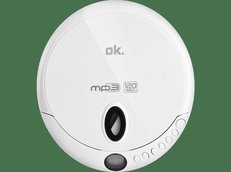 OK OPC 310-W White εικόνα   ήχος   offline φορητός ήχος cd  dvd φορητά τηλεόραση   ψυχαγωγία ήχος i