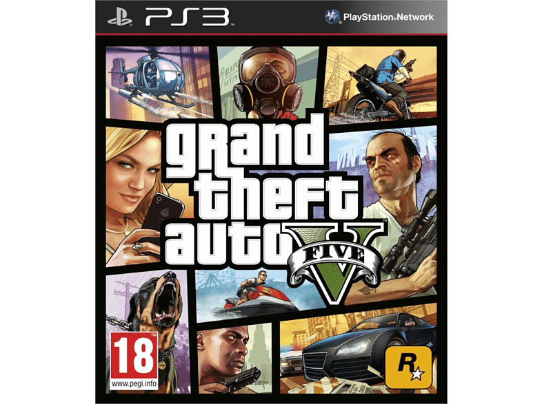 Grand Theft Auto V PlayStation 3 gaming games ps3 games