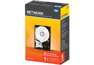 WD Desktop mainstream Red NAS harde schijf 1TB