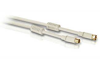 PHILIPS Coax-kabel met filter 1,5m