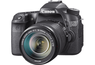 CANON EOS 70D Κit + 18-135 IS STM