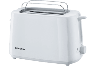 SEVERIN AT 2288 Toaster Weiß (700 Watt, Schlitze: 2)