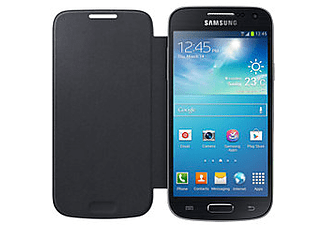 SAMSUNG Galaxy S4 Mini Flip Cover Zwart