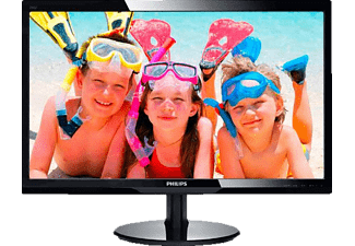 philips 247v5lhab pc monitore 22 3 bis 26 zoll media markt. Black Bedroom Furniture Sets. Home Design Ideas