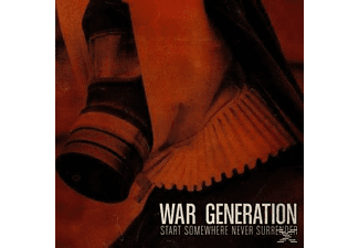 War Generation - Start Somewhere Never Surrender - (LP + Bonus-CD)