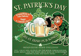 Paddy O Sullivan, PRES.BY PADDY O SULLIVAN - St.Patrick S Day! Great Irish Pub Songs - (CD)