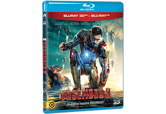 Iron Man Vasember 3. (3D Blu-ray)