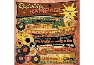 VARIOUS - Rockabilly Rampage Volume Two - (LP + Bonus-CD)