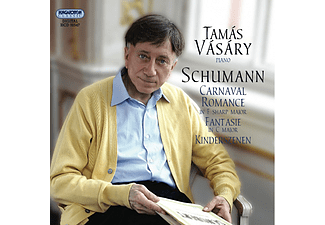 Vásáry Tamás - Carnaval, Romance in F sharp major, Fantasie in C major (CD)