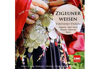 VARIOUS - Zigeunerweisen:Virtuoso Violin - (CD)