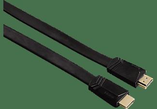 hama high speed hdmi kabel stecker flach ethernet 3 0 m hifi kabel steckdosen mediamarkt. Black Bedroom Furniture Sets. Home Design Ideas