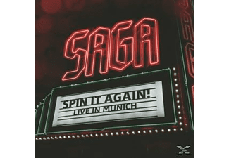 Saga - Spin It Again - Live In Munich [CD]