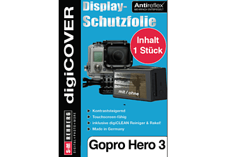 S+M digiCOVER für GoPro Hero3, 3+ Monitor GoPro Hero 1,2,3 Monitor (GoPro LCD Touch BacPac Bildschirm / Display) , Transparent