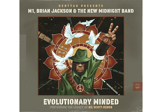 Kentyah, M1, Brian Jackson, The New Midnight Band - Evolutionary Minded - (CD)