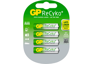 GP Batteries ReCyko+ AAA