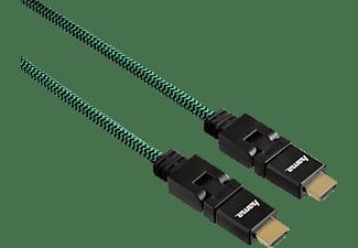 hama high speed hdmi kabel rotation hdmi kabel gr n online kaufen saturn. Black Bedroom Furniture Sets. Home Design Ideas