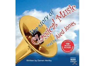 The Story Of Classical Music - 3 CD - Hörbuch