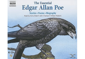 THE ESSENTIAL EDGAR ALLAN POE - 6 CD - Anthologien/Gedichte/Lyrik