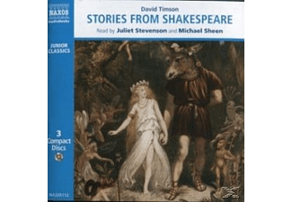 STORIES FROM SHAKESPEARE - 3 CD - Kinder/Jugend