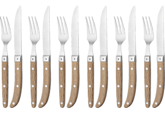 WMF 1280636046 RANCH, Steakbesteck Set 12-teilig Ranch