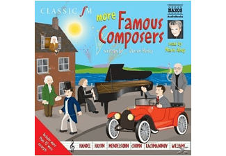 More Famous Composers - 2 CD - Biographien/Porträt