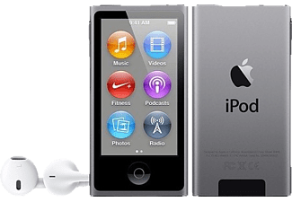 apple ipod nano mp4 player grau kaufen saturn. Black Bedroom Furniture Sets. Home Design Ideas