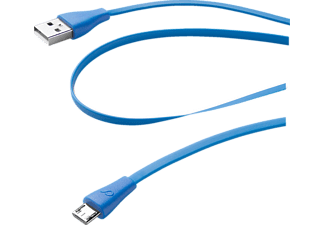 CELLULAR LINE 35310, 1x USB Daten-Kabel, 1 m, Blau