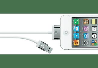 Belkin USB A 30-pin, 2.0m, White (F8J041cw2M-WHT)