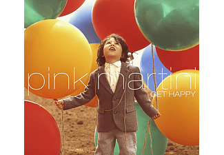 Pink Martini - Get Happy - (Vinyl)