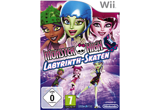 Monster High: Labyrinth-Sakten [Nintendo Wii]