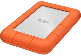 LACIE Rugged Mini 1TB, 2.5 Zoll, USB 3.0, orange/silber (301558)