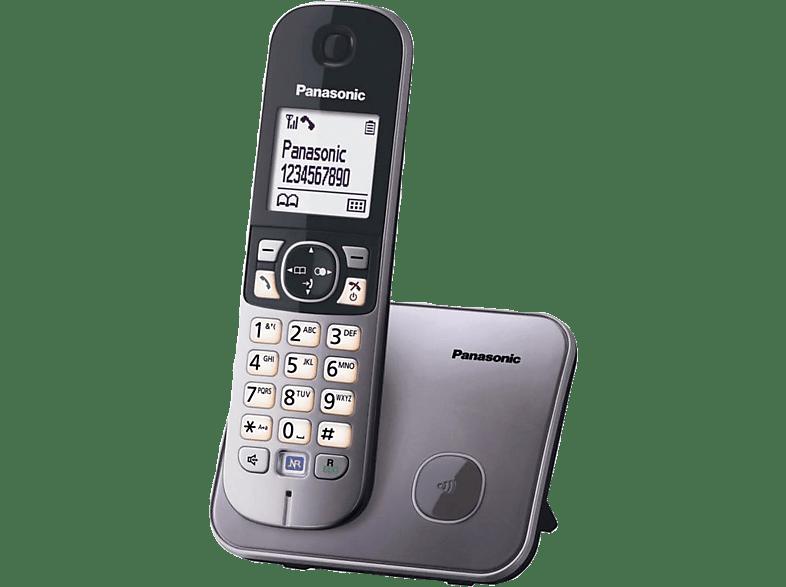 PANASONIC KX TG 6811GRM Grey τηλεφωνία   πλοήγηση   offline σταθερά τηλέφωνα ασύρματα τηλέφωνα βιβλία για το