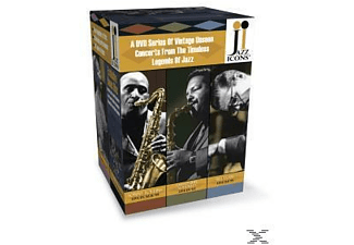 VARIOUS - Jazz Icons Series 3 Box Set In - (DVD)