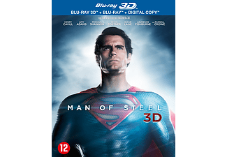Man Of Steel 3D | 3D Blu-ray