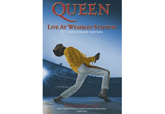 Queen - Live At Wembley (25th Anniversary) [DVD + Video Album]