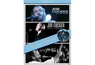 Joe Cocker - Cry Me A River / Across From Midnight / Montreux 1987 [DVD + Video Album]