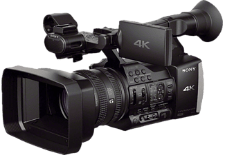 SONY FDR-AX1EB  Camcorder, CMOS Sensor, Carl Zeiss, 12x opt. Zoom, Bildstabilisator, Near Field Communication, WLAN, Schwarz