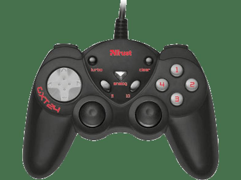 TRUST GXT 24 Compact Gamepad - (17416) laptop  tablet  computing  αξεσουάρ gaming χειριστήρια παιχνιδιών gaming   offli