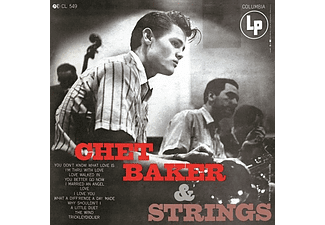 Chet Baker - With Strings (Vinyl LP (nagylemez))