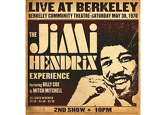 Jimi Hendrix - Live At Berkeley (Vinyl LP (nagylemez))