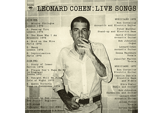 Leonard Cohen - Live Songs - Remastered (Vinyl LP (nagylemez))