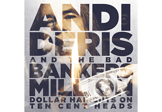 Andi Deris & Bad Bankers - Million Dollar Haircuts On Ten Cent Heads (Special Edition) - (CD)