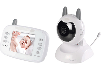 "TOPCOM Digital baby video monitor 3,5"" Babyvakt"