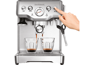 GASTROBACK 42611 Design Espresso Advanced Plus Espressomaschine Silber