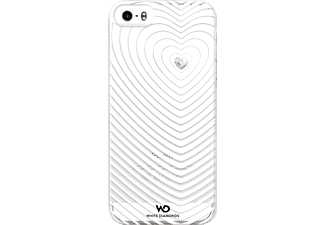 WHITE DIAMONDS Heartbeat, iPhone 5, iPhone 5s, iPhone SE, Weiß