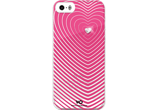 Heartbeat Backcover Apple iPhone 5, iPhone 5s, iPhone SE Kunststoff Pink