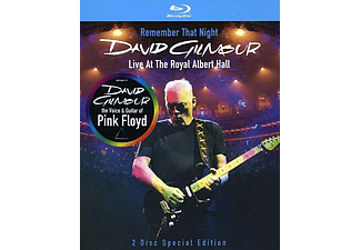 David Gilmour - Remember That Night - Live At The Royal Albert Hall 2006 (Blu-ray)