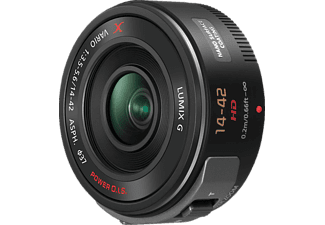 PANASONIC HS-PS 14042 Standardzoom für Micro-Four-Thirds , 14 mm - 42 mm , f/3.5-5.6