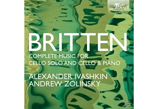 Alexander Ivashkin, Andrew Zolinsky - Complete Works For Cello Solo - (CD)